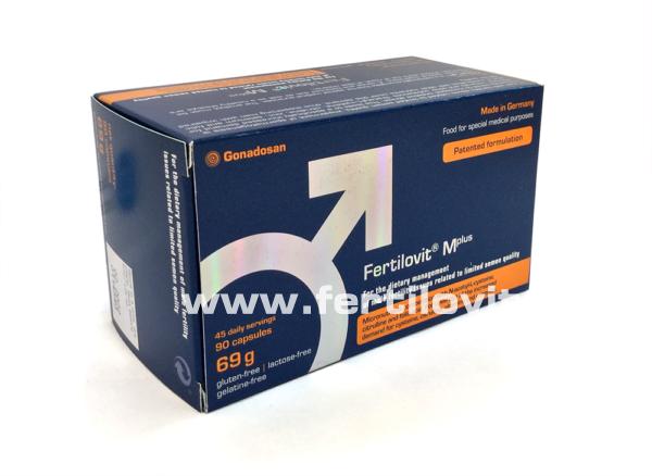 Fertilovt M Plus 90 box