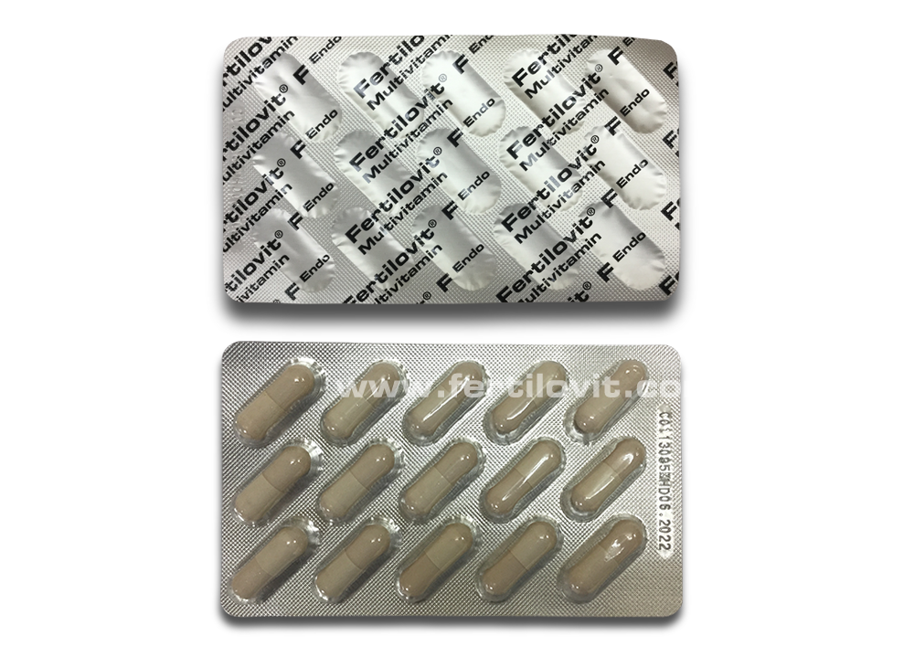 Fertilovit F Endo caps