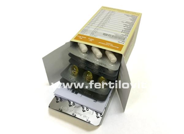 Fertilovit F Endo inside of the box