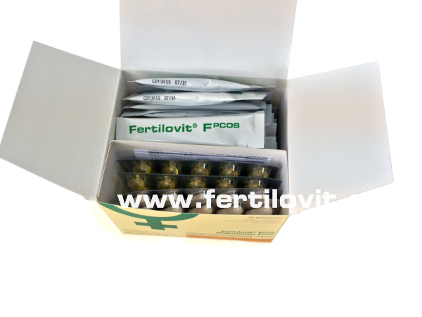 Fertilovit F PCOS inside