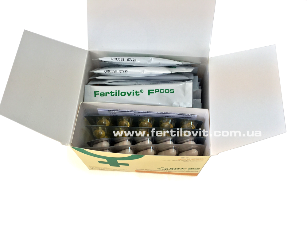 Fertilovit F PCOS inside of box